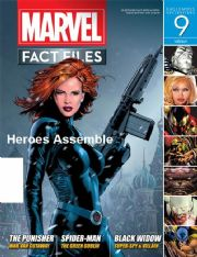 Marvel Fact Files #09 Eaglemoss Publications